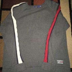 Vintage Tommy jeans flag sleeve sweater